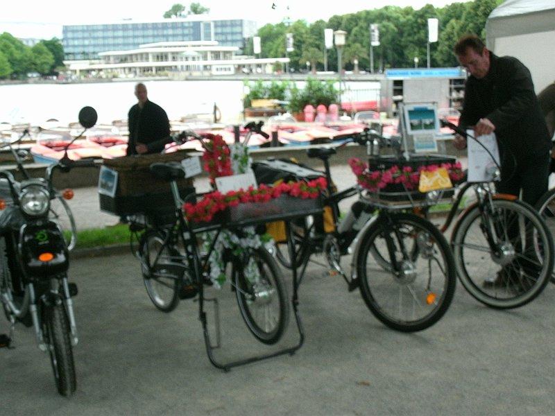 Zum Bericht über die Fahrradsternfahrt...